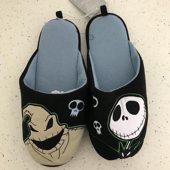 nightmare before christmas slippers